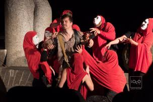 The Oresteia; Directed by Kristin Halsey. Hero Now Theatre.